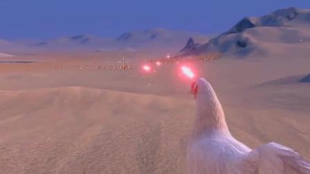 史诗战争模拟器:10只超级激光鸡挑战1000个一拳超人,谁能赢?