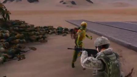 史诗战争模拟器:100特种兵vs1万木乃伊,结局太气人了!