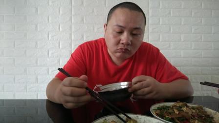 中国吃播vlog评测家常菜蓝莓山药泥视频