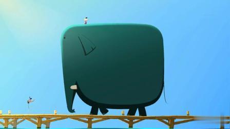 创意动画:曹冲称象,但是也不能超载啊