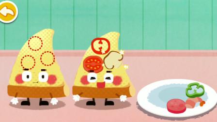 宝宝巴士 自己做披萨 你最喜欢神口味? 游戏