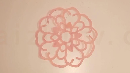 儿童剪纸视频教程,如何剪圆形窗花_五角折剪,儿童剪纸大全