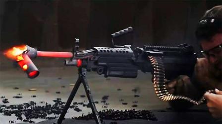 和平精英空投M249稳定性与M4相当,现实中M249怎么样?