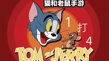一只猫打四只鼠!【猫和老鼠】官方手游试玩-小鹿大大神