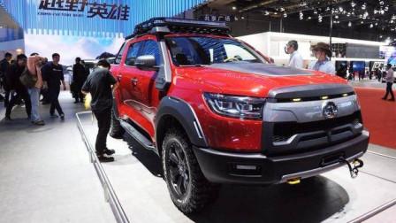"""长城汽车再次一""""炮""""而红 全新皮卡车型舒适度装载度皆强"""