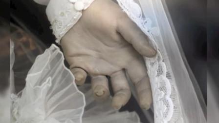 未解之谜墨西哥恐怖新娘,皮肤血管清晰可见,背后故事是什么?