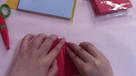 折纸教程:爱心折纸的第二种方法分享,教孩子很不错哦!-