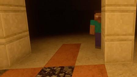 【MC恐怖片】Herobrine的传说 | Minecraft恐怖微电影