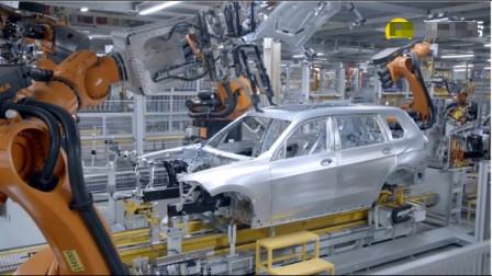 实拍宝马X7制造过程,在这里上班看起来很轻松的样子