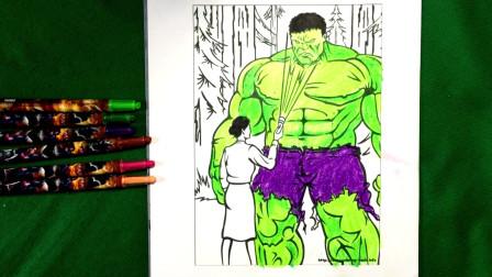 着色页在丛林着色书如何画