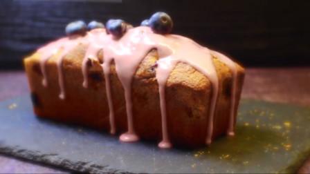 「烘焙教程」教你做最简单的蓝莓蛋糕,日常小点心