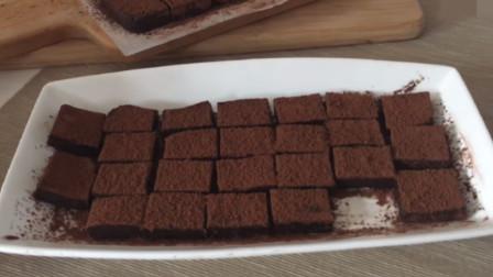 「烘焙教程」高级蛋糕做法—黑巧克力蛋糕