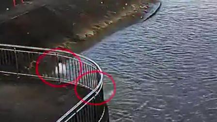 男子施救落水父子后被卷入水中 警方已找到其遗体