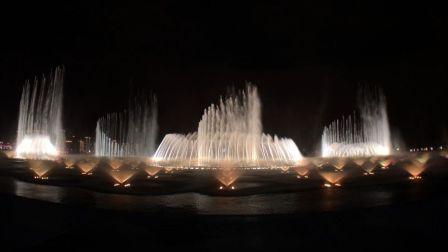 【音乐喷泉】苏州金鸡湖音乐喷泉完整版 - 20190606