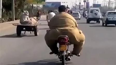雅马哈造的车这么强?两百斤车主都跑得动,网友:车子质量真好!