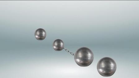 伽利略两个铁球同时着地