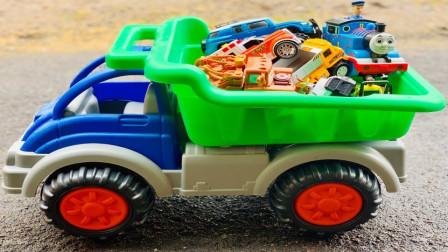 认识各种小汽车玩具的名字赛车环保车