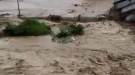 广东省河源市连平县上坪镇,2019年6月10日,百年一遇水灾!