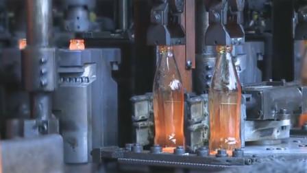 玻璃瓶生产工艺流程,全机械化!