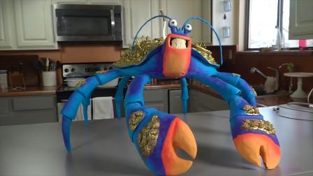 这么气势逼人的螃蟹原来是牛人做的翻糖蛋糕!你能叫出它的名字吗