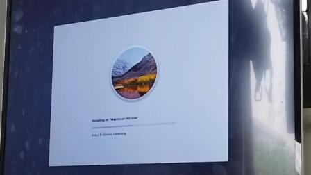 真是记录上门安装黑苹果全部流程 黑苹果上门维修安装双系统 原版安装黑苹果