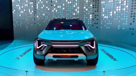 紧凑型跨界电动车 起亚Habaniro概念车国内首发