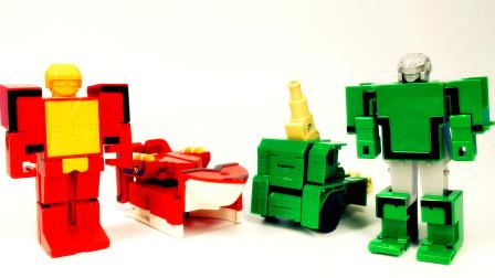 数字变形玩具视频 数字符号和数字一起酷炫变形的游戏