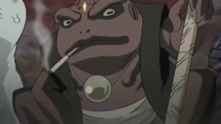 《火影忍者》:鸣人本想召唤蛤蟆文太战斗, 蛤蟆吉叼着烟卷来替老爹的班。