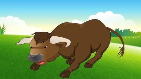 乐多梦童话故事 第45集爱恋花朵的小牛  可爱的小牛
