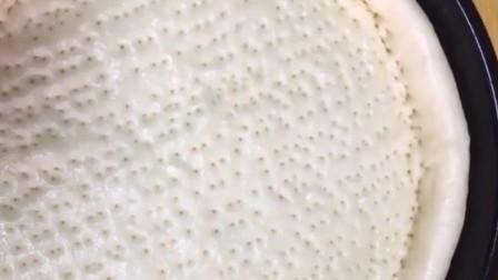 酸奶披萨这样做,轻松上手,比买的要好吃!