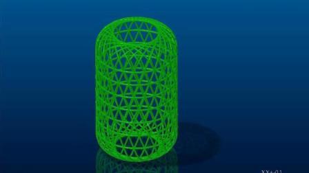 Creo外观曲面造型设计-笼子