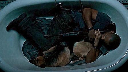 城市被丧尸占领,只有一男一狗在城市中,睡觉不敢在床上