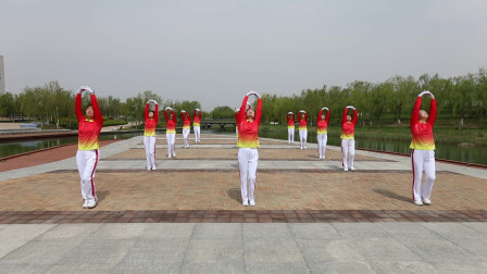 晨曦悠扬快乐舞步健身操十二套第三节