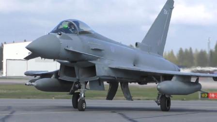瑞典鹰狮战斗机和美军F16战斗机展开联合训练