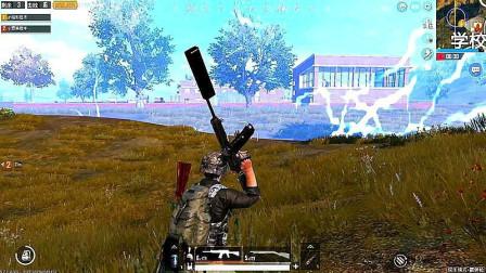 和平精英:霰弹枪17杀带妹吃鸡,这才是强者的实力!