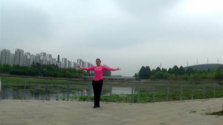 贞贞广场舞《印度健身操》编舞:格格