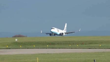 荷兰皇家航空波音737客机曼彻斯特机场起飞