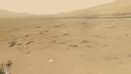 """NASA火星探测器""""好奇号""""拍摄的火星画面,无尽的荒凉和孤寂"""