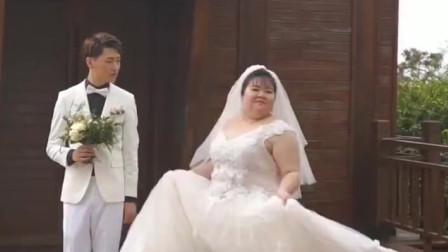 """为了给胖新娘拍唯美婚纱照,摄影师""""绞尽脑汁"""",网友:求摄影师"""