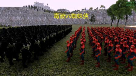 超级英雄战争:蜘蛛侠vs毒液军团