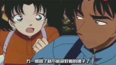 名侦探柯南:平次迷路碰到柯南,尴尬到犯病!