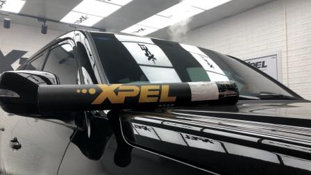 雷克萨斯LX570装贴XPEL内饰保护膜-洛阳XPEL改装力量