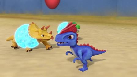 驯龙斗士:新型恐龙太强大,恐龙队直接团灭了!