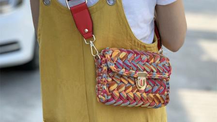 A款上集最新泫雅同款手工编织包包教程久针巷花样nkxfkw