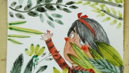 创意儿童插画:森林的呼吸