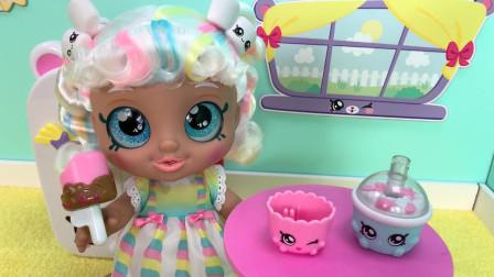 迪斯尼彩虹公主:白银的魔法冰淇淋杯