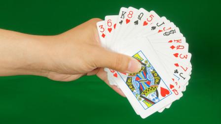 为什么用手轻轻一弹,20张杂牌瞬间变成红心6?揭秘后真简单