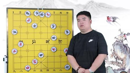 武震讲棋:很经典的中局战术,零基础也能看懂,简单易学