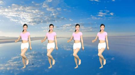 广场舞《玫瑰花儿香》24步简单入门鬼步舞!