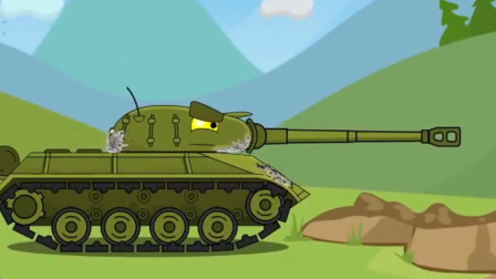 坦克世界:升级后得炮管真的好厉害!